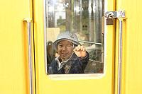 電車図書館 運転席に入る?