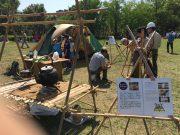 スカウト工作:キャンプ備品の制作