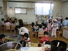 こちらは3歳児のお部屋